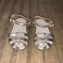 Sandália prata velho - 20 - Zara