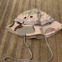 Chapéu camuflado estilo safari - 6 anos - Não informada