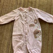 Macacão de plush Rosa claro - 9 a 12 meses - Baby Classic