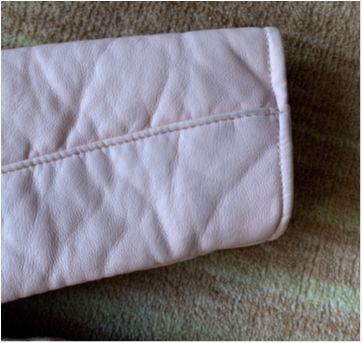 Casaco de couro fake rosa claro - 7 anos - Zara