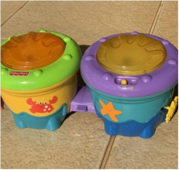 Tambor musical Fisher Price - Sem faixa etaria - Fisher Price