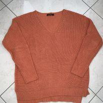 Tricot adulto laranja - P - 38 - Mixed