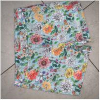 Shorts de sarja florido - 12 anos - Zara Kids