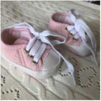 Tênis bebê rosa - 14 - Sem marca