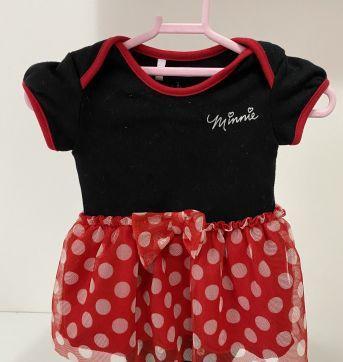 Body Disney Minnie - 0 a 3 meses - Disney