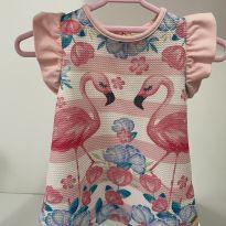 Vestido lindo - 0 a 3 meses - Alô bebê