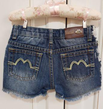 Shorts Jeans feminino Lilica Ripilica tamanho 1P - 12 a 18 meses - Lilica Ripilica
