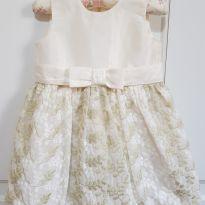 Vestido Festa Bodado Primo Amore Tamanho 2 - 2 anos - Primo Amore