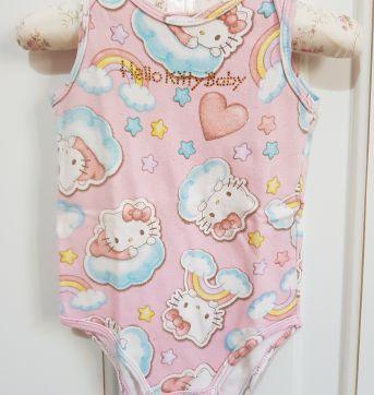 Body Regata Hello Kitty Nuvens Tamanho M - 3 a 6 meses - Hello  Kitty e Hello Kitty by Sanrio