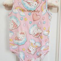 Body Regata Hello Kitty Nuvens Tamanho M - 3 a 6 meses - Hello  Kitty e Hello Kitty by Sanrio