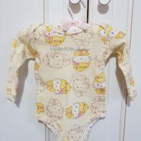 Body Manga Longa Hello Kitty tamanho M - 3 a 6 meses - Hello Kitty by Sanrio e Hello  Kitty