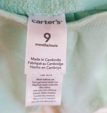 Calça Mijão Carter`s Corujinha 9 Meses - 9 meses - Carter`s