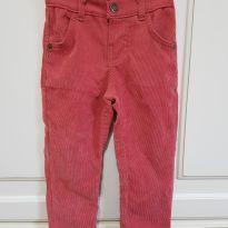 Calça em Veludo Quimby Tamanho 2 - 2 anos - Quimby