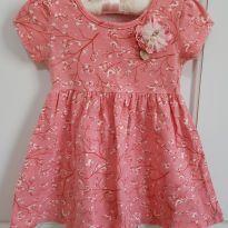 Vestido Floral Milon Tamanho 1 - 1 ano - Milon