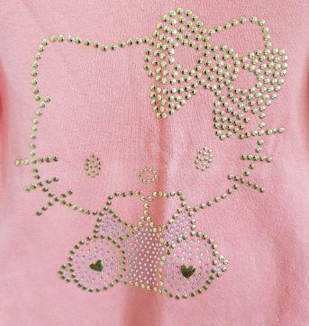 Camiseta Blusa Manga Longa Hello Kitty Tamanho M - 6 a 9 meses - Hello Kitty by Sanrio e Hello  Kitty