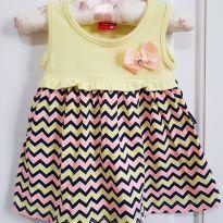 Vestido Kyly Tamanho P - 3 meses - Kyly