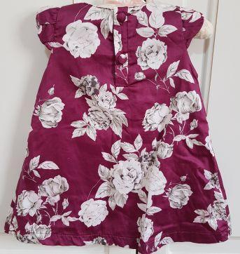 Vestido Floral Upi Uli Tamanho G - 9 meses - Upi Uli