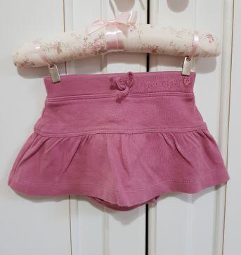Saia com calcinha embutida Tip Top Tamanho M - 3 a 6 meses - Tip Top