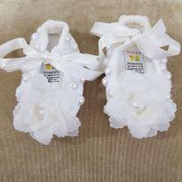 Sapatilha Festa Bebê Tamanho 1 - 13 - Outros