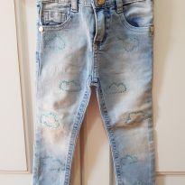 Calça Jeans Skinny Mon Sucré Tamanho 1 - 12 a 18 meses - Mon Sucré