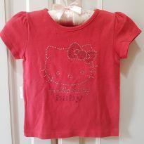 Blusa Camiseta Hello Kitty Tamanho G - 9 a 12 meses - Hello Kitty by Sanrio e Hello  Kitty