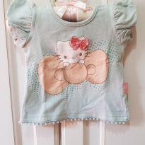 Blusa Camiseta Hello Kitty Tamanho M - 3 a 6 meses - Hello Kitty by Sanrio e Hello  Kitty