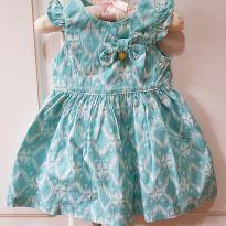 Vestido 1+1 Tamanho G - 9 a 12 meses - 1+1 e Um mais um