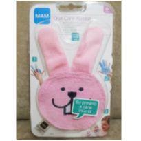 Luva para Cuidado Oral do Bebê (Oral Care Rabbit) 0+meses Rosa - MAM