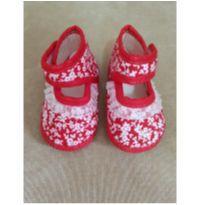 Sapatilha Floral Baby Gut Tamanho 2 (Tamanho 14)