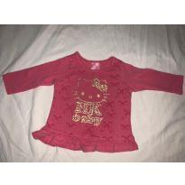 Camisa - Hello Kitty by Sanrio - 6 a 9 meses - Hello  Kitty e Hello Kitty by Sanrio