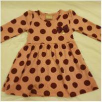 Vestido Milon Poá - 6 a 9 meses - Milon