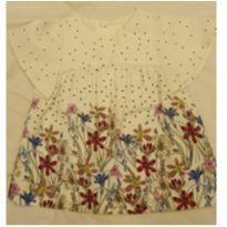 Vestido Zara floral - 6 a 9 meses - Zara e Zara Baby