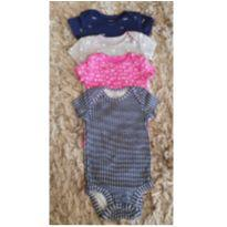Kit 4 body Carter`s - 0 a 3 meses - Carter`s