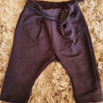 Calça saruel moletom - 3 a 6 meses - Zara e Zara Baby