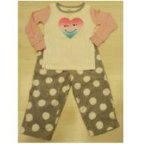 Pijama quentinho e confortável Carter`s - 18 a 24 meses - Carter`s
