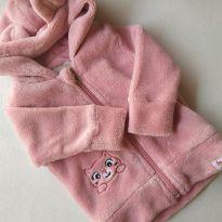 Blusa de frio em fleece - 0 a 3 meses - Zig Zig Zaa