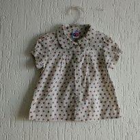 Camisa feminina - 2 anos - Tip Top