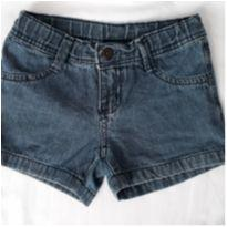 Shorts jeans - 4 anos - Hering