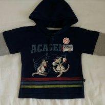 Camiseta manga longa - 6 a 9 meses - Baby Club
