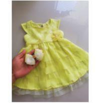 Vestido encantador da grife Milon - 9 a 12 meses - Várias/ MILON, KYLY, MINI