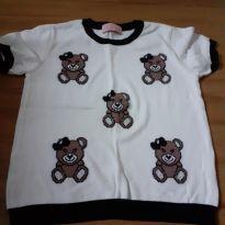 Blusa tricot pituchinhus - 12 anos - Pituchinhus