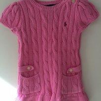 Vestido de inverno Ralph Lauren - 9 a 12 meses - Ralph Lauren