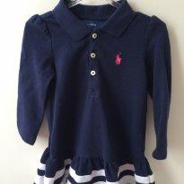 Vestido lindo Ralph Lauren - 1 ano - Ralph Lauren