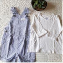 Jardineira + camiseta Carters - 24 a 36 meses - CARTERS/TIPTOP/ZARA