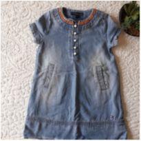 Vestido Jeans Tommy Hilfiger importado! - 2 anos - Tommy Hilfiger