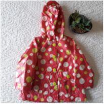 Capa de chuva acolchoada OshKosh - 12 a 18 meses - OshKosh
