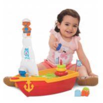 Barco didático lúdico infantil Brinquedo PRONTA ENTREGA -  - Sem marca