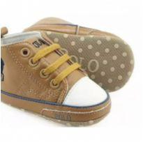 sapatinho para bebê polo marrom botinha Infantil - 17 - Polo Ralph  Lauren Réplic