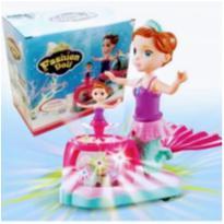 Brinquedo Sereia Musical com Luz e Som Bate e volta -  - Importado