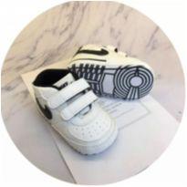 Tênis Infantil Nike Bebê branco Lindo Sapatinho